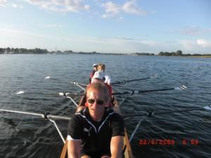 Das Boot kurz nach dem Start