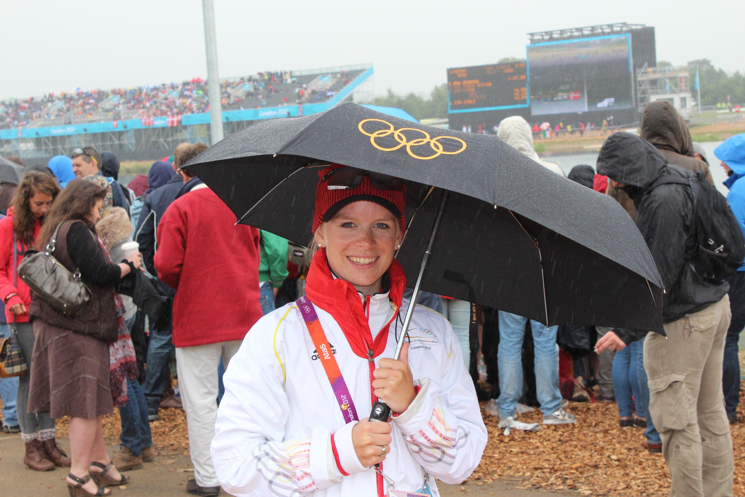 Laura bei den Olympischen Spielen in London