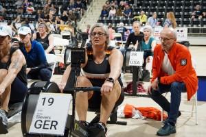 Ulrike Sievers im Rennen